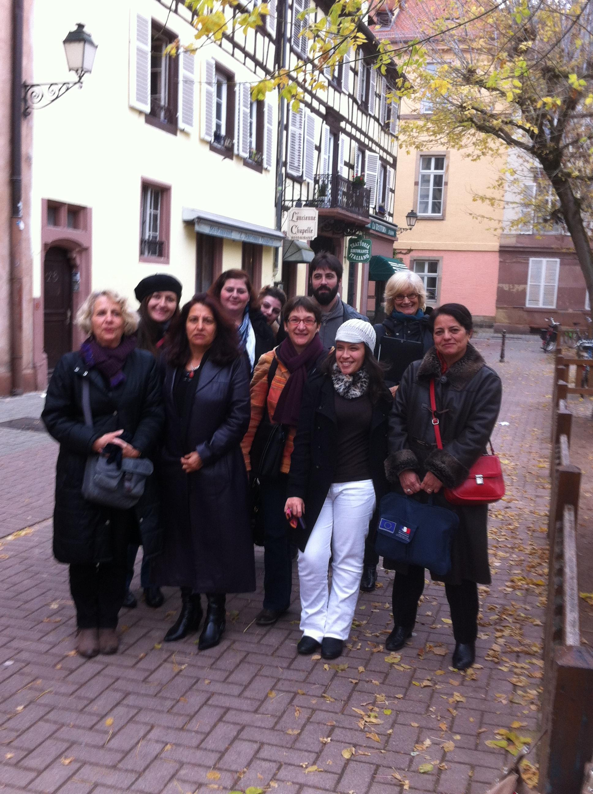 équipe de l'asamla à Strasbourg